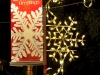 snowflake pole mount and banner
