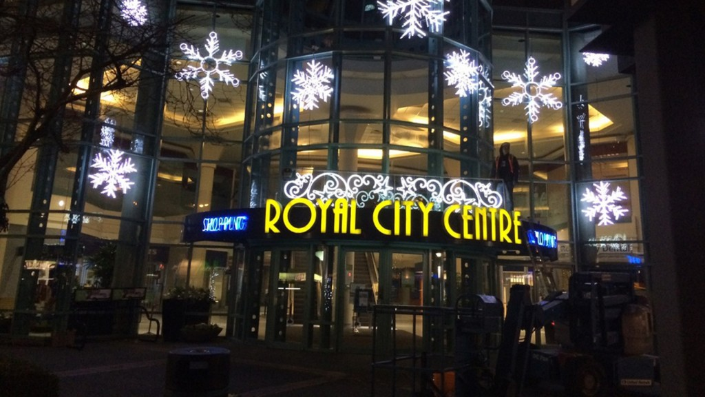 Royal City Centre Lights
