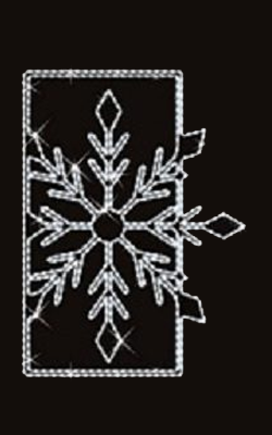 Mini Snowflake Window, 5′, LED Canada