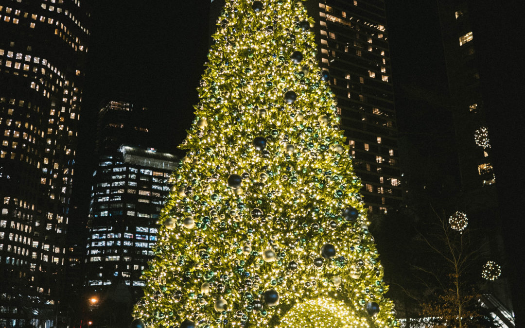 Bentall Center's Giant Sequoia Tree Dekra-Lite Canada